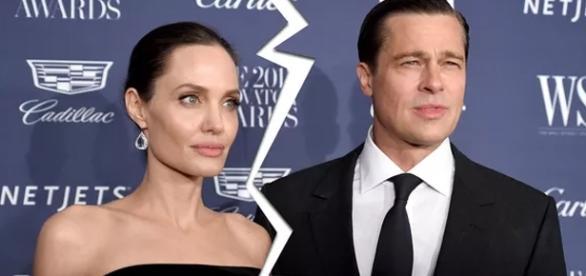 Angelina Jolie pede divórcio para Brad Pitt