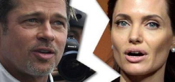 Brad Pitt e Angelina Jolie - Imagem/Google