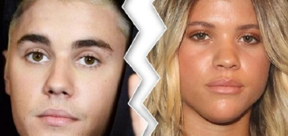 Justin e Sofia não estão mais juntos (Foto: Reprodução/TMZ)