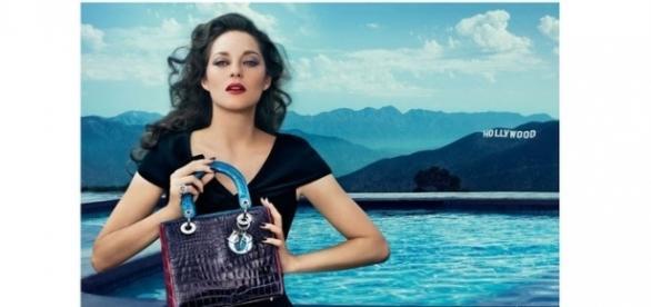 Marion Cotillard, em publicidade para a Dior - bem-sucedida dentro e fora das telas