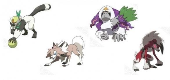 Nuevos pokémones y evoluciones