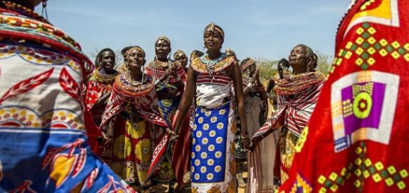 A vila de Umoja é um refúgio para mulheres vitimadas pela violência da sociedade Samburu.