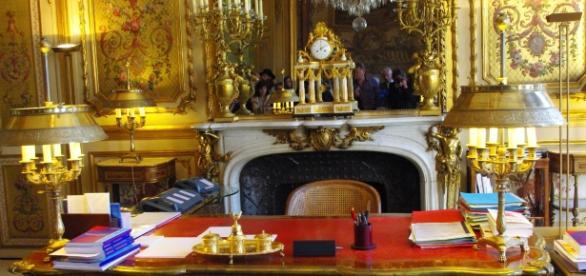 Bureau - Palais de l'Elysée - CC BY