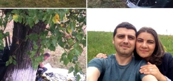 Doi tineri arădeni, soţ şi soţie, au murit într-un tragic accident
