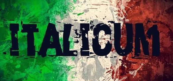 La bandiera italiana e il nuovo sistema elettorale.