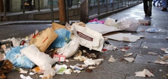 La calles presentan un alto descuido de higiene