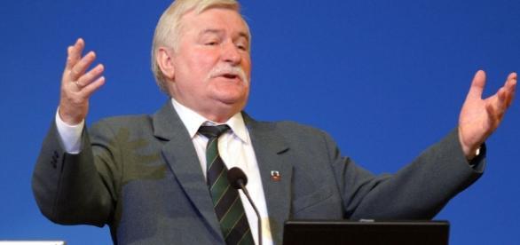 Spotkanie Wałęsy z sympatykami KOD znów zakłócone