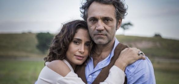 Camila Pitanga voltou a gravar após a morte do amigo
