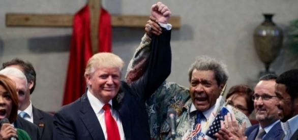 Don King lets slip n-word at Trump event - Connecticut Post - ctpost.com