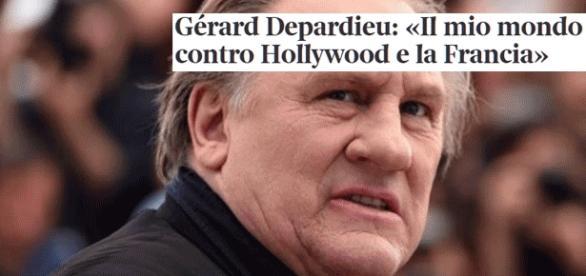 Entretien choc de Gérard Depardieu pour la presse itallienne... histoire d'assurer la promotion de son livre Innocente