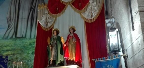 I gemelli Santi Cosma e Damiano