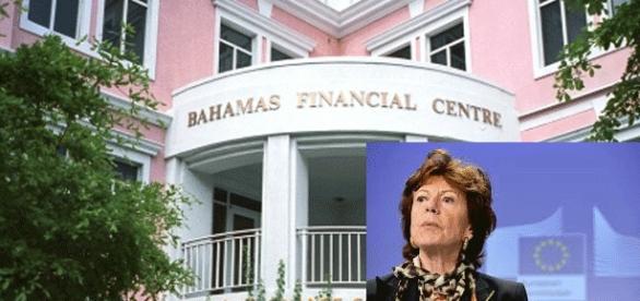 L'ex-commissaire européenne néerlandaise Neelie Kroes est la personnalité la plus citée en liaison avec les Bahamas Papers