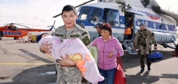 A criança foi localizada após 3 dias do desaparecimento