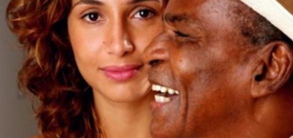Antonio Pitanga e a filha, Camila Pitanga