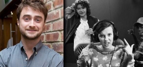 Daniel Radcliffe elogia elenco mirim de Stranger Things