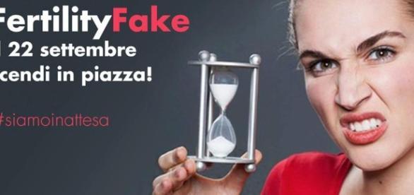"""Fertility Fake"""", in piazza contro la giornata della fertilità -"""