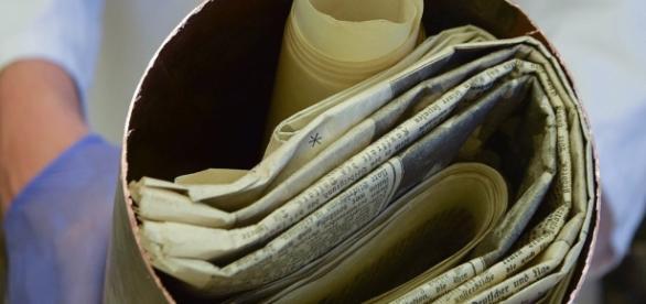 Foto: cápsula contendo documentos nazistas megacurioso.com/Reprodução