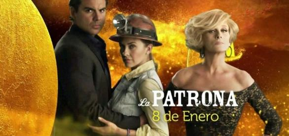 La Patrona foca na vingança e o poder (Foto: Telemundo)