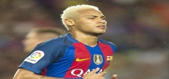 Neymar, atacante do Barcelona.