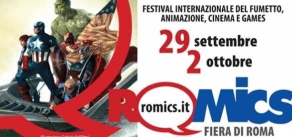 Romics, Festival del Fumetto a Roma