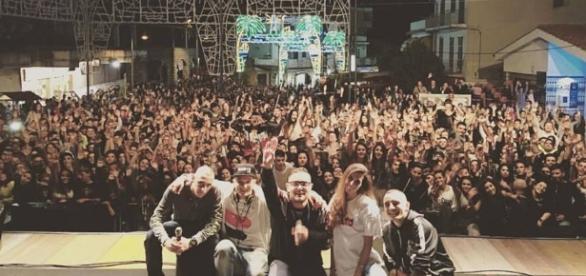 concerto di Rocco Hunt a Palinuro.