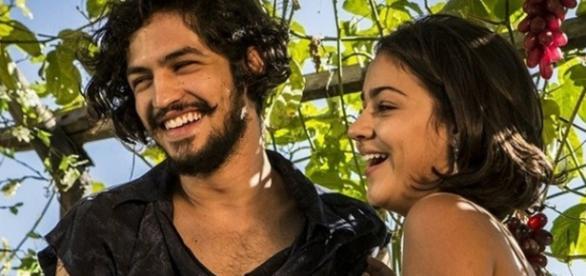 Gabriel Leone na novela das nove da TV Globo