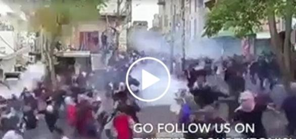 Izraelska policja nie patyczkowała się z protestującymi.