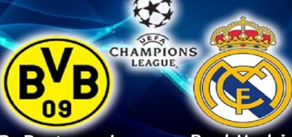 Borussia x Real pela Champions