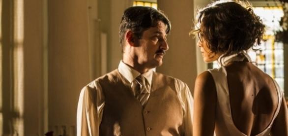 Carlos Eduardo ameaça processar Tereza por danos morais.