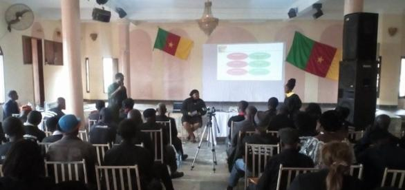 Le collectif Stand up for Cameroon