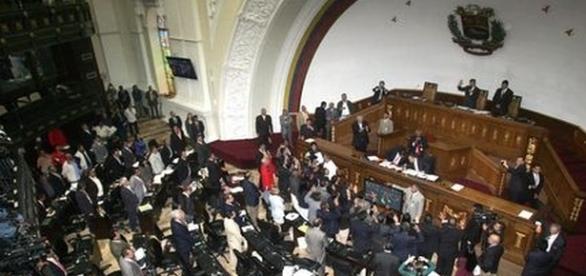 Sitzungsaal des venezolanischen Parlamentes