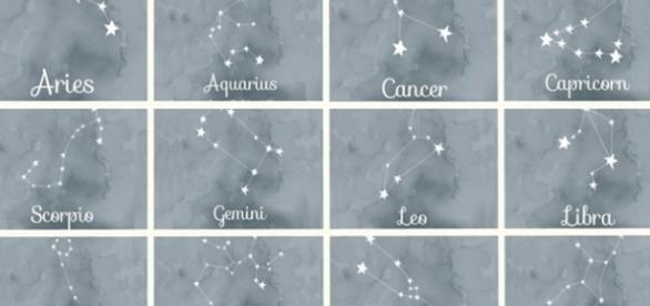 Cada signo possui uma diferente constelação formada por estrelas especiais.