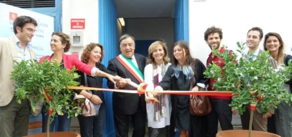 L'inaugurazione del coworking al Mercato Ittico di Palermo