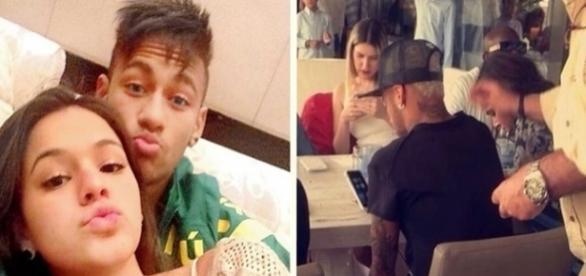 O casal de famosos está prestes a se reconciliar, segundo algumas imagens capturadas