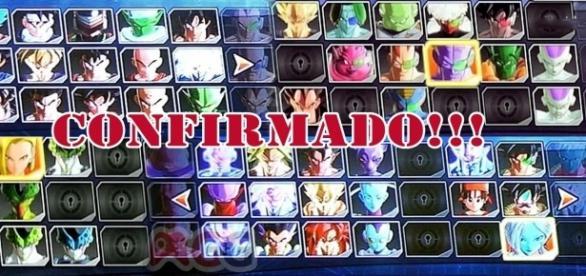 Imagen revelada de el plantel de luchadores en Dragon Ball Xenoverse 2