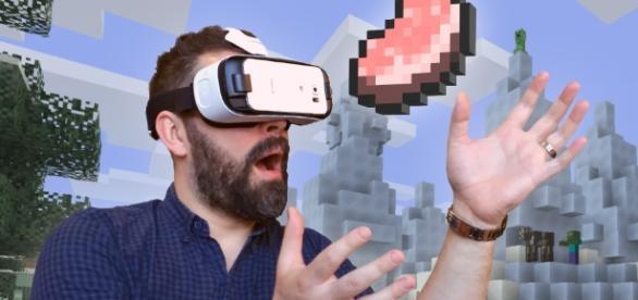 Minecraft listo para realidad virtual con Gear VR - UNIAT - uniat.com