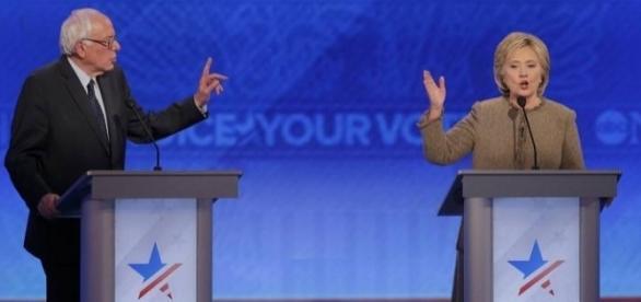 Primo dibattito tra la clinton e trump, vittoria schiacciante per la clinton