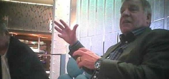 Sam Allardyce, técnico da seleção da Inglaterra