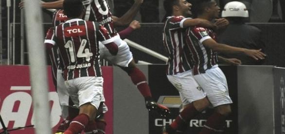 Vitória do Flu sobre o Corinthians teve boa audiência no último domingo (Foto: EJESA)