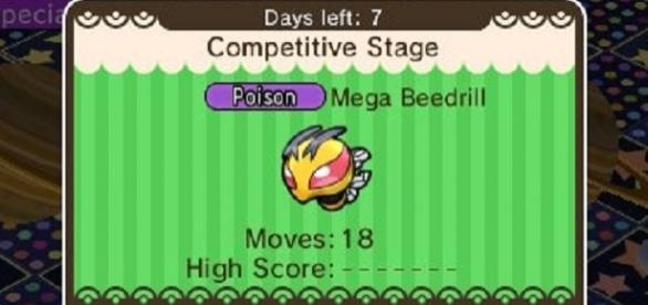El mayor premio será la Beedrillita con la que alcanzaras la fase Mega