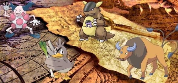 Estos son los pokémon regionales que causan polémica.