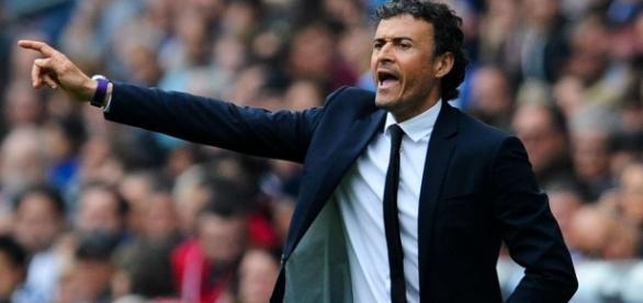 Luis Enrique, entrenador del Barça