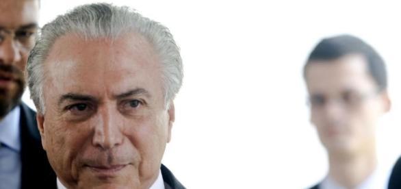 O presidente Michel Temer ficou chateado com críticas