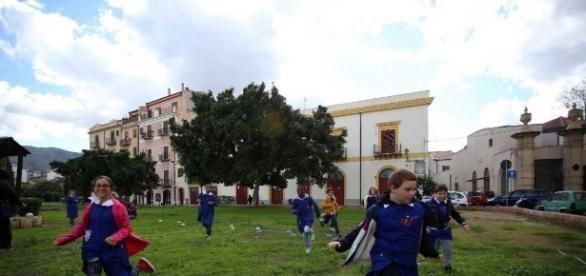 Piazza Magione e gli spazi ritrovati del centro storico