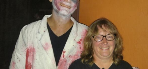 Some of the ghouls in Motel Hell are friendly. (Photo by Barb Nefer)
