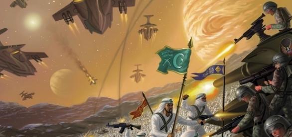 Bătălia de la Dabiq, unde conform profeției lui Mahomed se va declanșa Apocalipsa - Foto: Alan Gutierrez - Deviant Art