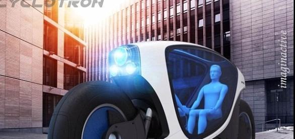 Imagem de projeto do carro do futuro