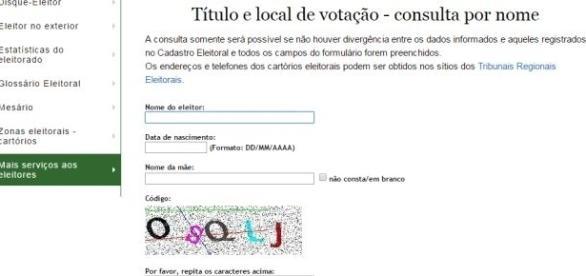 No site do TSE você pode pesquisar o número do seu título e verificar qual é o seu local de votação