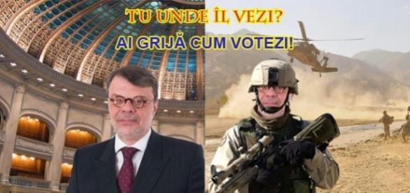 Senatorul Daniel Barbu crede că meseria de politician este mai periculoasă decât cea de militar în Afganistan