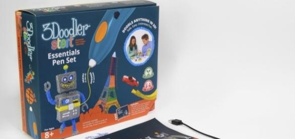The 3Doodler Start was designed to be safe for children to use. / Photo via Aaron Wade, ChizzComm PR. Used with permission.
